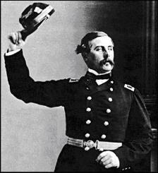 A photo portrait of Captain Thomas Francis Meagher, commander of the Irish Brigade of the Union Army.