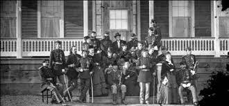 Seventh Cavalry Officers and Wives