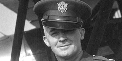 U.S. Army Air Corps Colonel Hap Arnold in the 1930s.