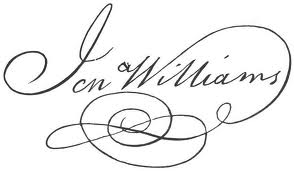 Jonathan Williams Signature