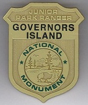 Governors Island Junior Ranger Badge