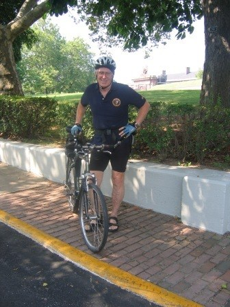 Join National Park Service Volunteer Frank Allstrom for a bike tour of the historic district.