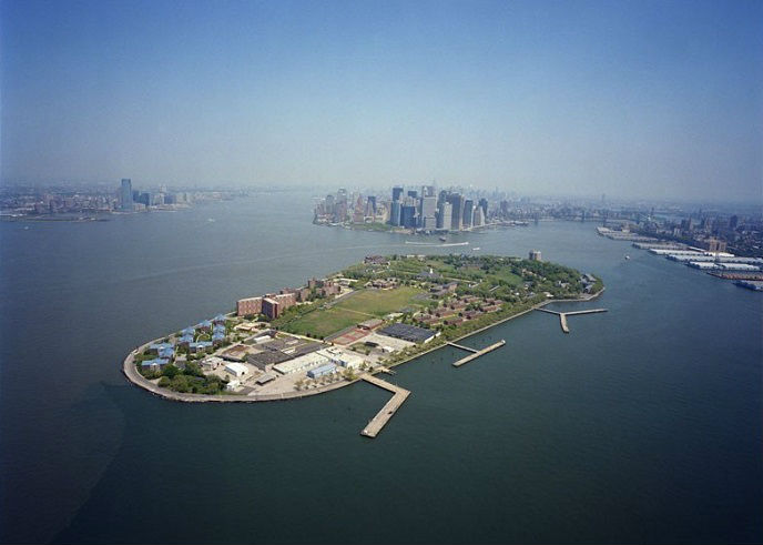 Governors Island Plans Aerial of Governors Island
