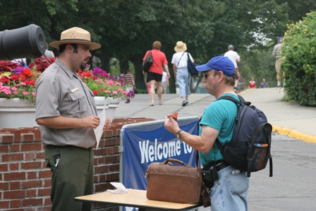 A Park Ranger describes the variety of programs that are offered during the summer season on Governors Island.