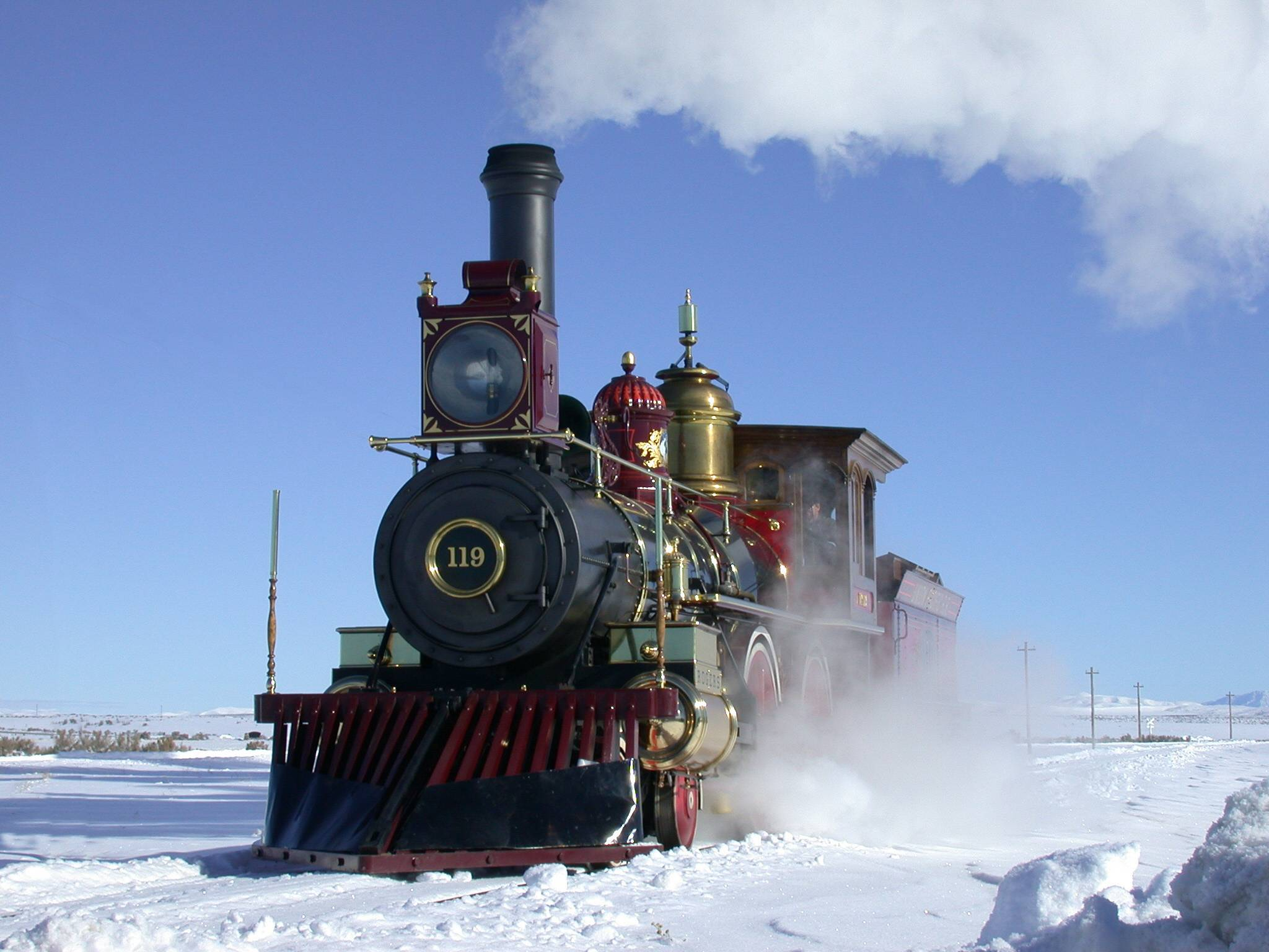 No. 119 in snow