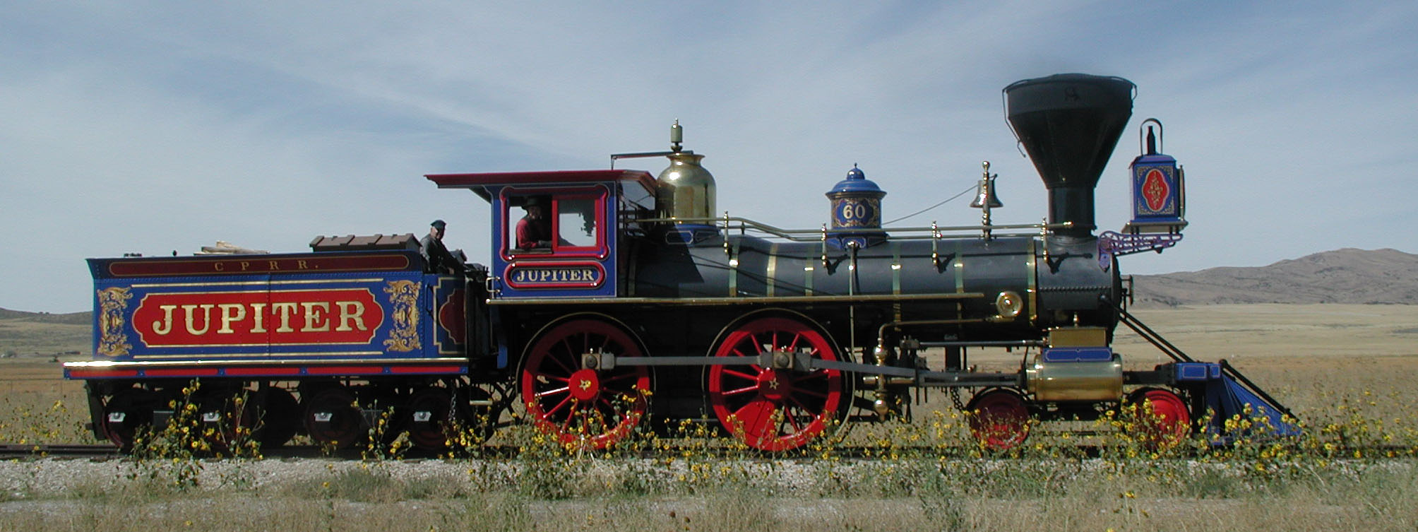 Everlasting Steam The Story Of Jupiter And No 119 Golden Spike