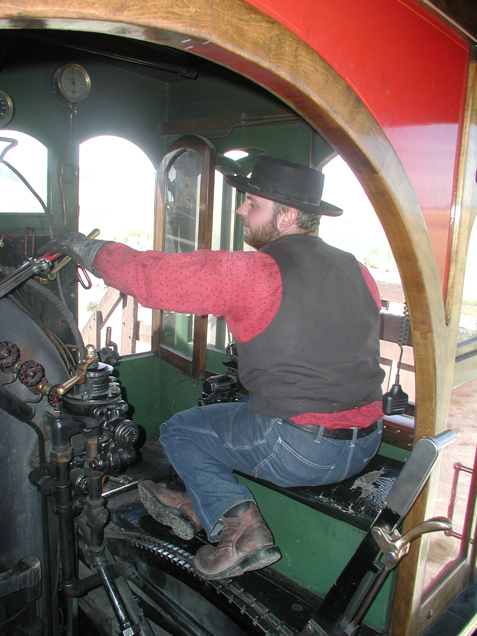 Engineer Richard Carroll operating #119