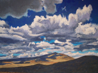 Great Basin-painting by Mike Hess