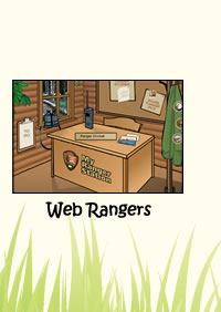 WebRangers is a great website for kids!