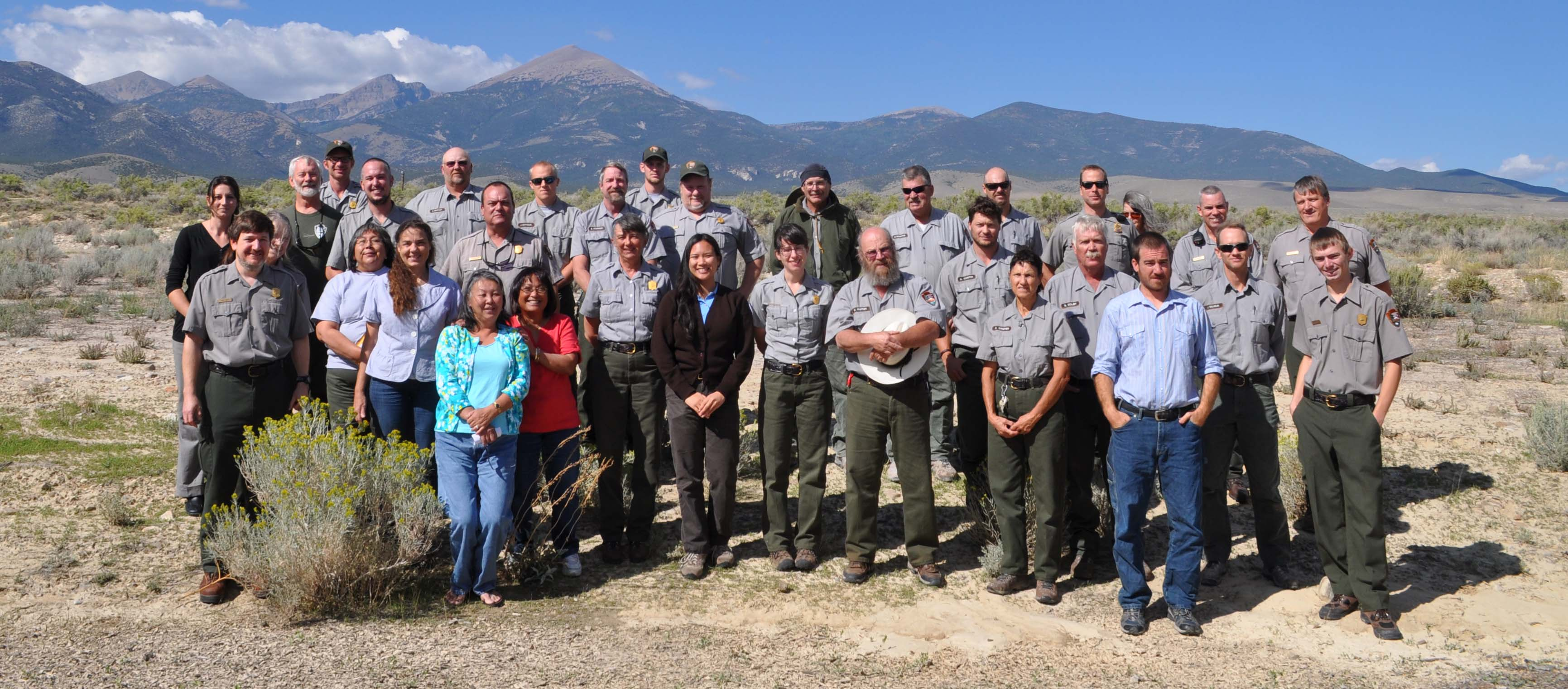 2013 Great Basin National Park Staff
