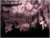 Lehman Caves seen with LED lights