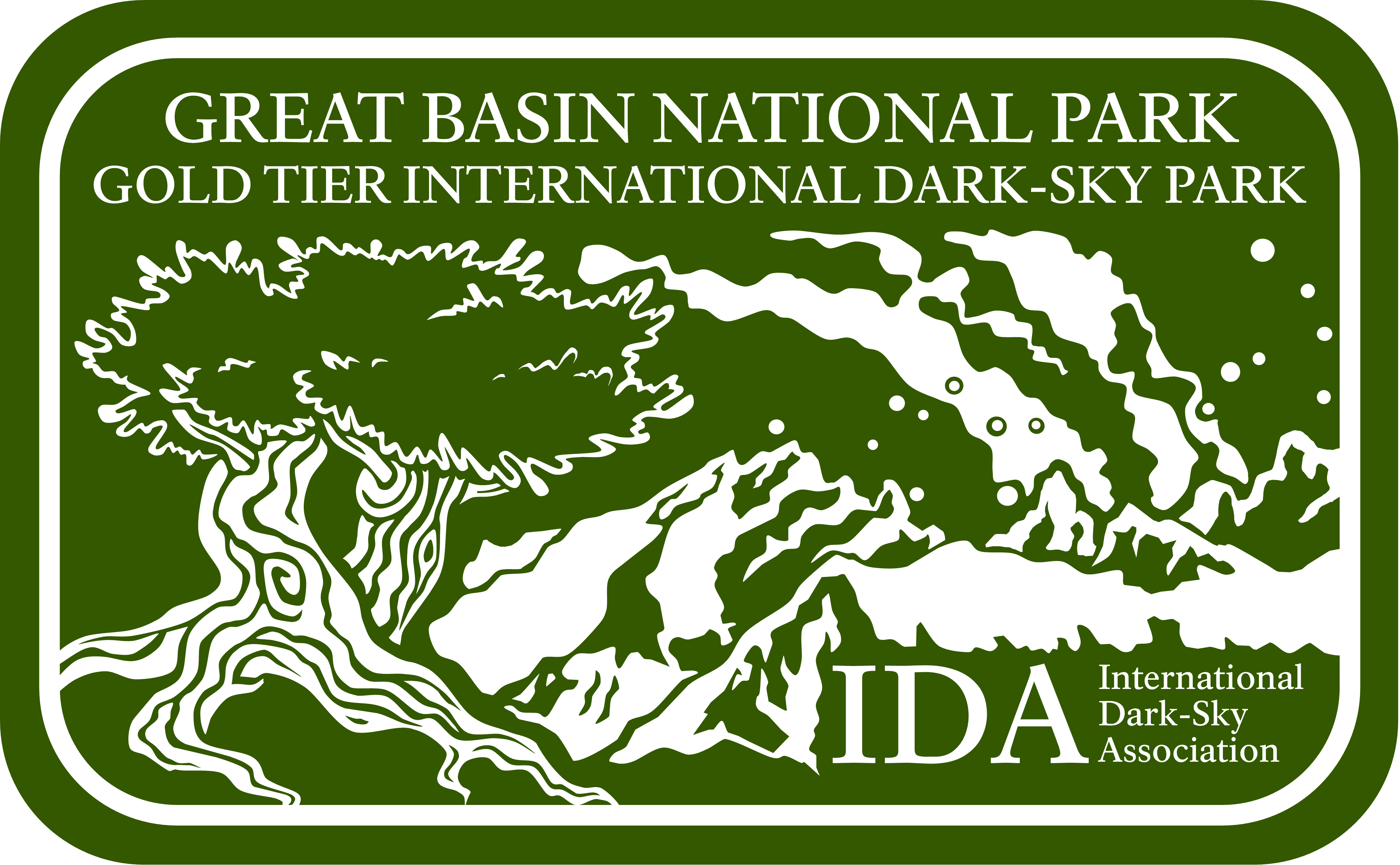 Great Basin National Park Dark-Sky Logo