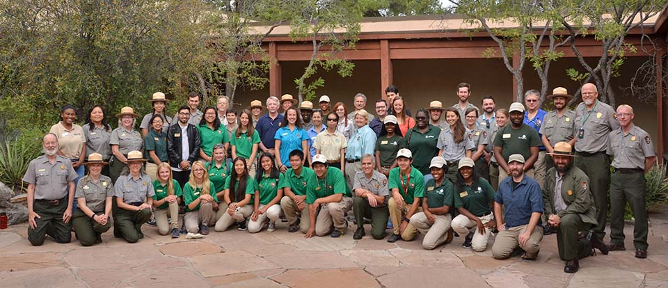Grand Canyon National Park Interpretive staff and volunteers - Summer 2016.