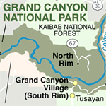 Grand Canyon Area Maps