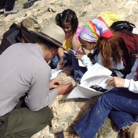 Stories in Stone fossil program