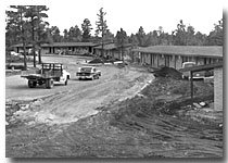 YAVAPAI LODGE DURING CONSTRUCTION 1958