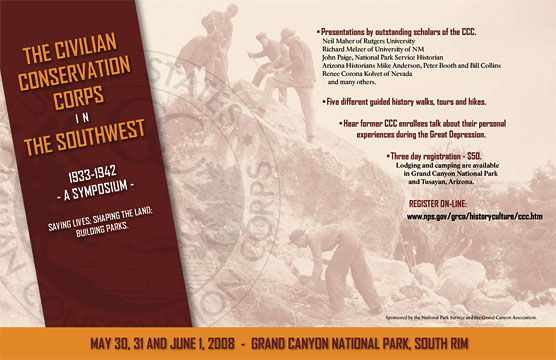 2008 CCC Symposium Poster - Grand Canyon National Park.