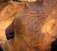 ROCK ART ALONG COLORADO RIVER