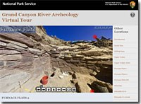 Archeology Virtual Tour Console