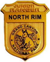 North Rim Junior Ranger Badge