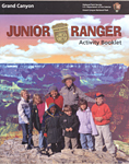 Cover of Grand Canyon Jr. Ranger Booklet