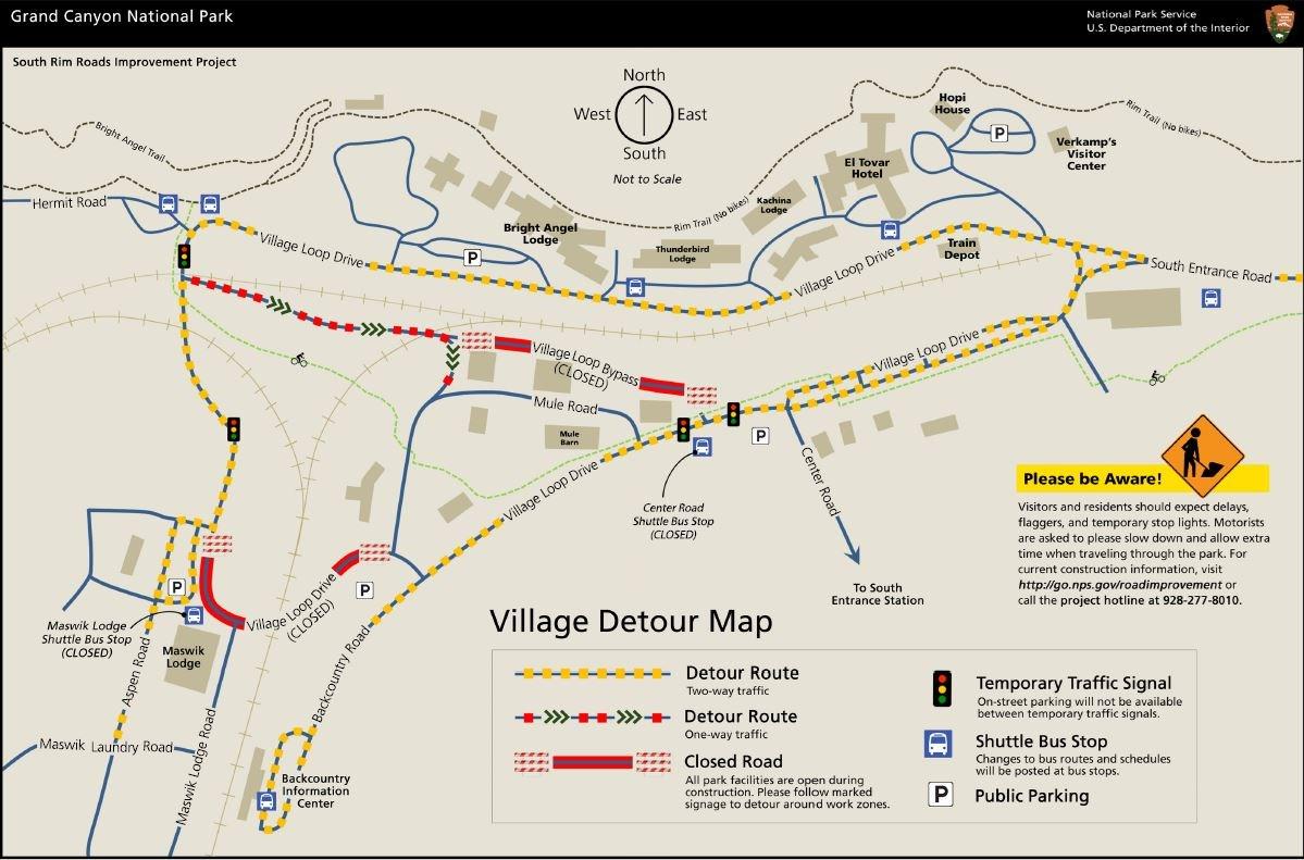 village detour