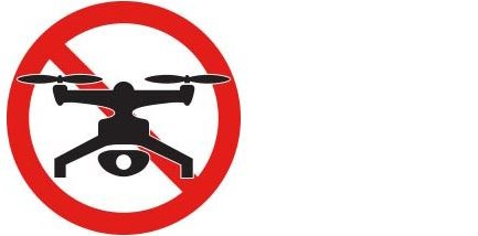 No drone zone icon