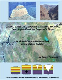 Cover of Grand Canyon Geology Training Manual.