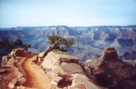 An Invitation to Explore. S. Kaibab Trail. NPS Photo by L. Grover-Bullington