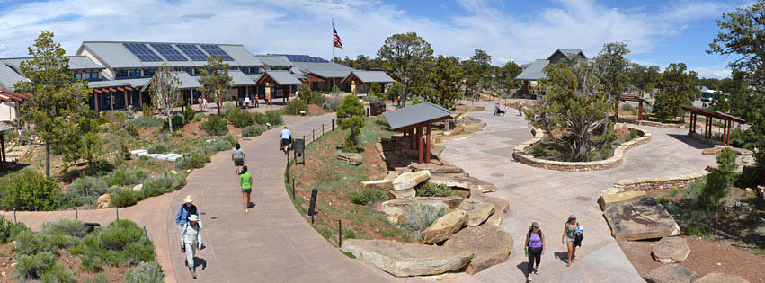 The Grand Canyon visitor center.