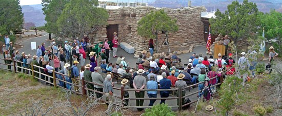 Rededication of Yavapai Observation Station. May 24, 2007