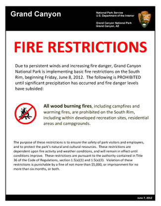 campfire restriction