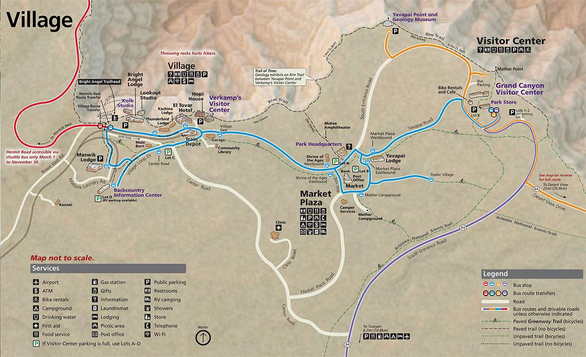 Lodging Grand Canyon National Park U S National Park Service