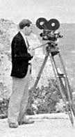 Filming at the Grand Canyon, 1931
