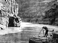 mapping the Grand Canyon 1923