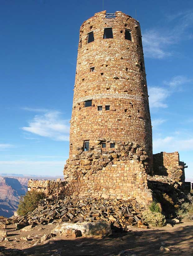 Mary Colters Desert View Watchtower Grand Canyon National Park