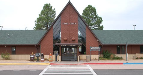Grand Canyon Airport main terminal building
