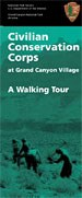 Cover of CCC Grand Canyon Village Trail Guide.