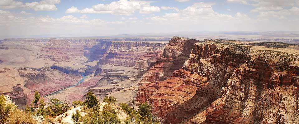 Fahrstrecke von Williams nach Grand Canyon