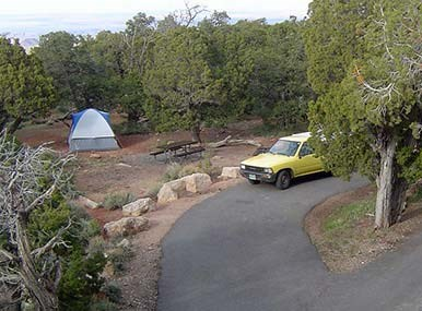 Desert View Campground tent site