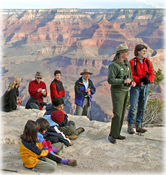 Grand Canyon ranger led walk