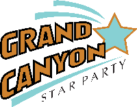 Grand Canyon Star Party Logo Copyright Joe Bergeron