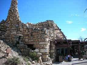 stone Hermits Rest building