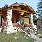 Entrance to the North Rim Visitor Center