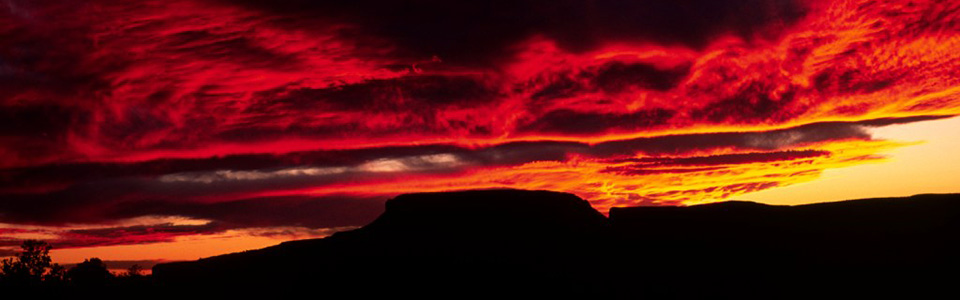 A bright red and orange sunset at the canyon. & Sunrise/ Sunset Times and Moon Phases - Grand Canyon National Park ...