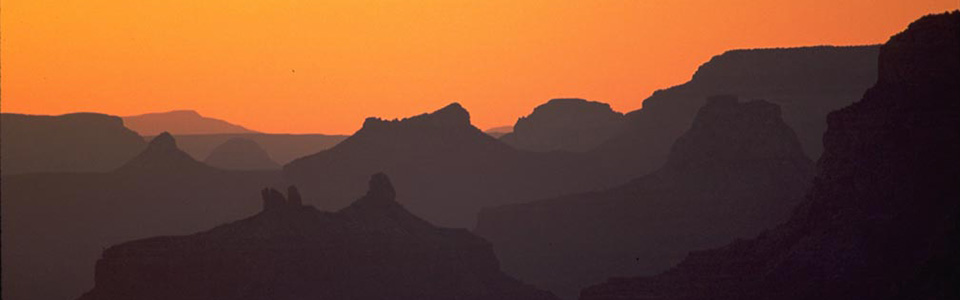 Sun behind the canyon at sunset. & Sunrise/ Sunset Times and Moon Phases - Grand Canyon National Park ...