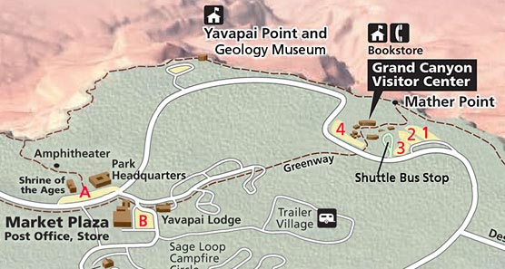 Archaeology Day Sat March 22 2014 Grand Canyon National Park – Grand Canyon Tourist Map