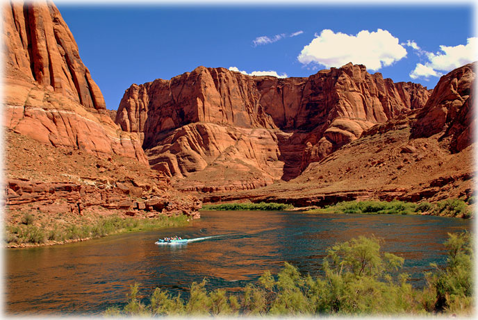 Grand Canyon River Rafting Tours One Day