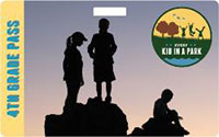 4th Grade Pass shows silhouette of 3 kids.