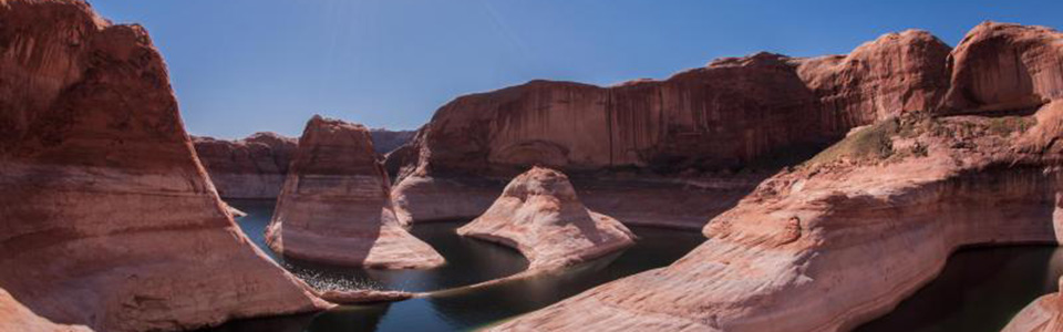 Curves of Reflection Canyon.